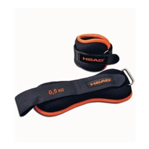 Head Set Wrist Weight,  Black & Orange  0.5 kg