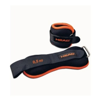 Head Set Wrist Weight,  Black & Orange  0.5 kg