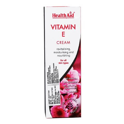 HealthAid Vitamin E Cream,  75 ml  Moisturising And Nourishing