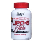 Nutrex Lipo 6 Hers,  120 capsules  Unflavoured