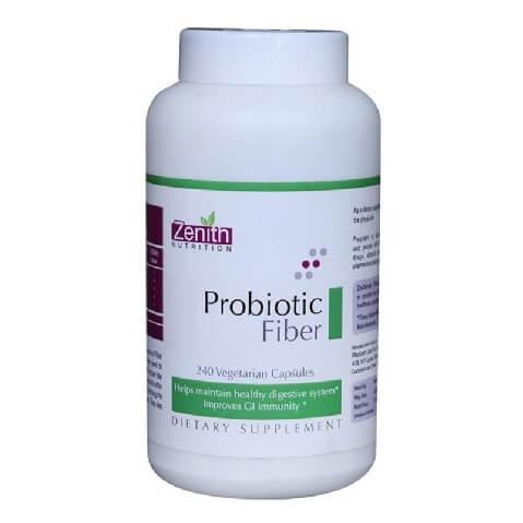 Zenith Nutrition Probiotic Fiber,  240 veggie capsule(s)