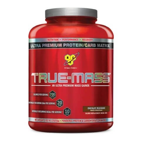 BSN True-Mass,  Chocolate Milkshake  5.82 lb
