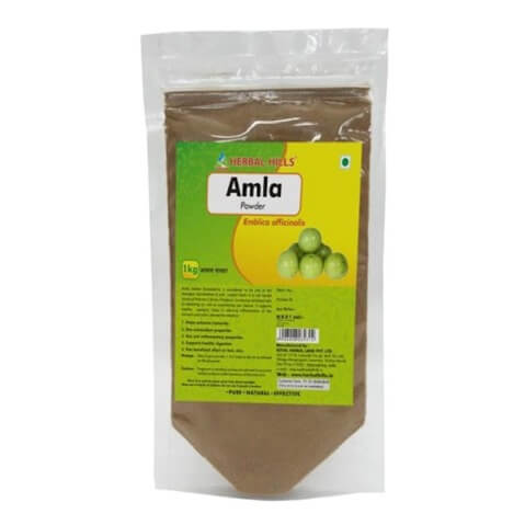 Herbal Hills Amla Powder,  1 kg