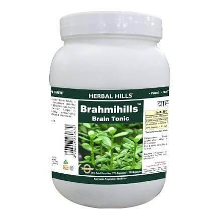 Herbal Hills Brahmihills,  700 capsules