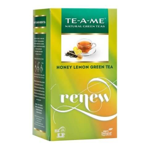 TE-A-ME Honey Lemon green Tea,  25 Piece(s)/Pack  Honey Lemon