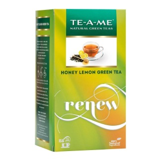 TE-A-ME Honey Lemon green Tea,  25 Piece(s)/Pack  Honey Lemon