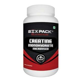 Six Pack Nutrition Creatine Monohydrate, Unflavoured 0.66 lb