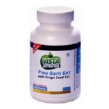 Vista Nutrition Pine Bark Ext With Grape Seed Ext,  120 Capsules