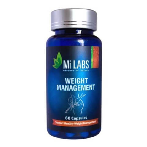 Mi Labs Weight Management,  60 capsules  Unflavoured