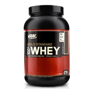 ON (Optimum Nutrition) Gold Standard 100% Whey Protein,  2 lb  Double Rich Chocolate