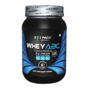 Six Pack Nutrition Whey ABC,  2.2 lb  Rich Chocolate