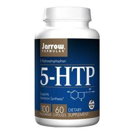 Jarrow Formulas 5-HTP (100mg),  60 capsules