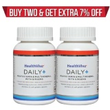 HealthViva Daily+ (Multivitamin) - Pack of 2