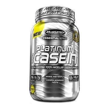 MuscleTech Platinum 100% Casein,  1.82 lb  Gourmet Milk Chocolate
