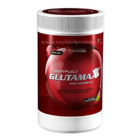 Bodyfuelz Glutamaxx,  0.88 lb  Unflavoured