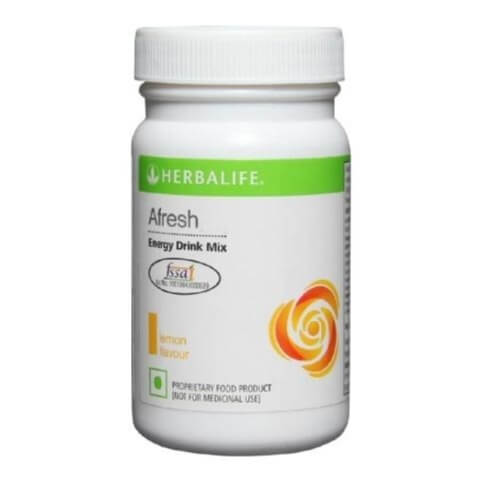 Herbalife Afresh Energy Drink Mix,  0.05 kg  Lemon