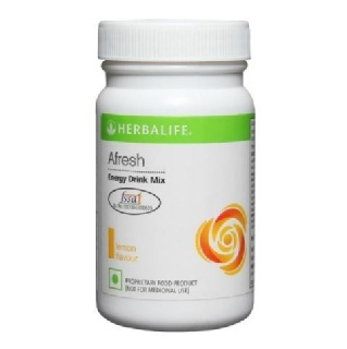 Herbalife Afresh Energy Drink Mix,  0.050 kg  Lemon