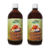 Dr. Patkar's Apple Cider Vinegar Pack of 2,  1 L  Garlic, Ginger, Lemon and Honey
