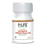 INLIFE Lycopene Wheat Germ Oil (500mg),  30 Veggie Capsule(s)