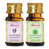 St.Botanica Pure Essential Oil,  20 Ml  Lavender + Lemongrass