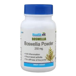 Healthvit Boswellia Powder (250mg),  60 capsules