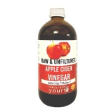 Naturally Yours Apple Cider Vinegar,  500 Ml  Unflavoured