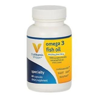 The vitamin shoppe omega 3 fish oil 300 epa 200 dha 60 for Vitamin shoppe omega 3 fish oil
