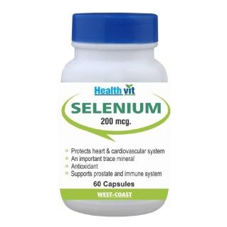 Healthvit Selenium 200mcg,  60 capsules
