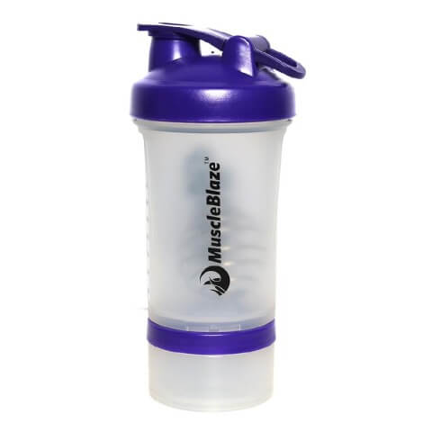 MuscleBlaze Prostar Shaker,  Blue Cap  600 ml