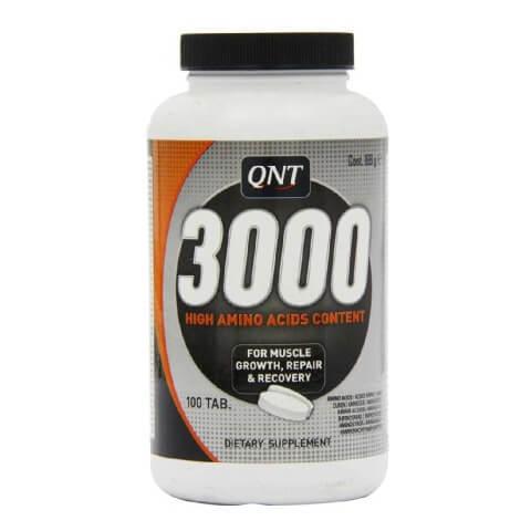 QNT Amino Acid 3000,  100 capsules  Unflavoured