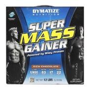 Dymatize Super Mass Gainer,  12 lb  Rich Chocolate