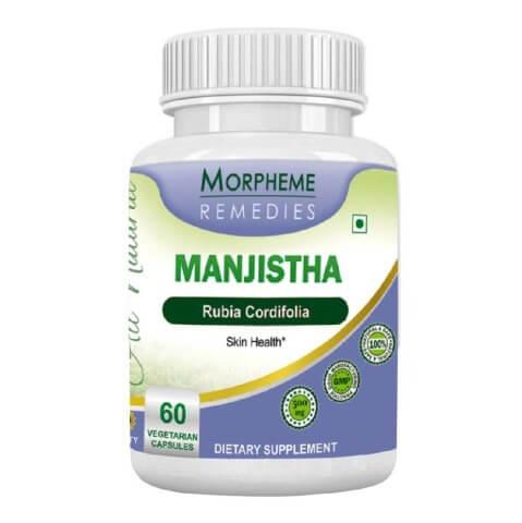 Morpheme Remedies Manjistha (500 mg),  60 veggie capsule(s)
