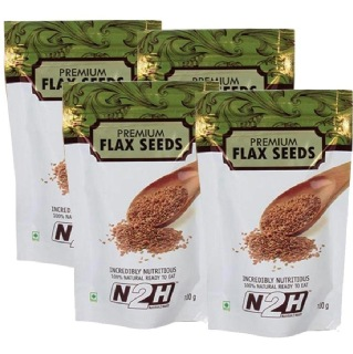 N2H Premium Flax Seeds  (Pack of 4),  100 g