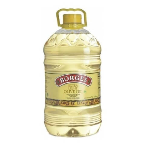 Borges Extra Light Olive Oil,  5 L
