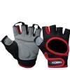 KOBO Gym Gloves (WTG-03),  Red & Black  XL