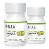 INLIFE Garcinia Cambogia (Pack Of 2),  60 Veggie Capsule(s)