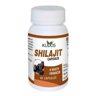 Kudos Ayurveda Shilajit,  60 capsules