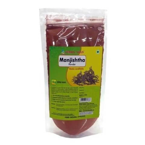 Herbal Hills Manjishtha Powder,  1 kg