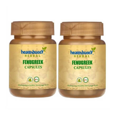 Healthbuddy Herbal Fenugreek (Pack of 2),  30 capsules