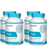 HealthViva Daily (Multivitamin with Ginseng) - Buy 2 Get 2 Free on MRP