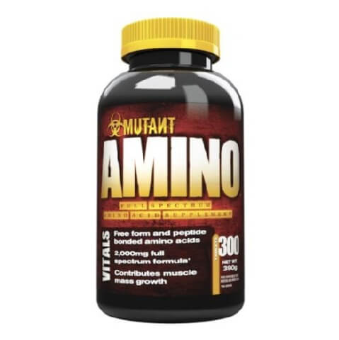Mutant Amino Tablets,  300 tablet(s)  Unflavoured