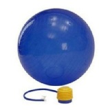 Vector X Gym Ball With Pump,  Blue  65 Cm