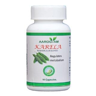 Aarogyam Karela Capsules,  90 capsules