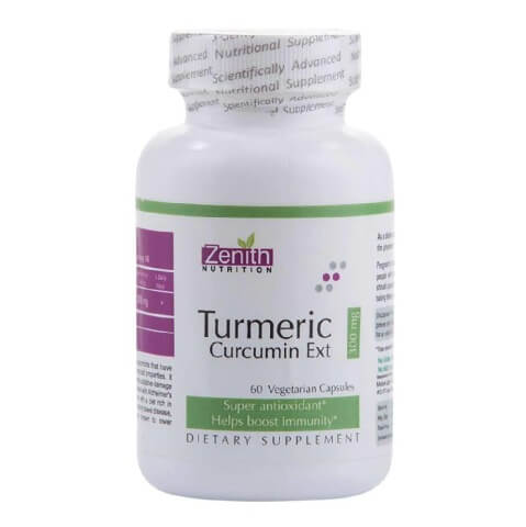 Zenith Nutrition Turmeric Curcumin Ext (300 mg),  60 capsules
