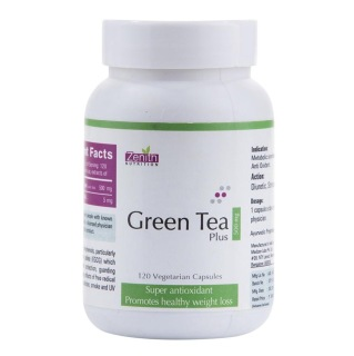Zenith Nutrition Green Tea Plus (500 mg),  120 capsules  Unflavoured