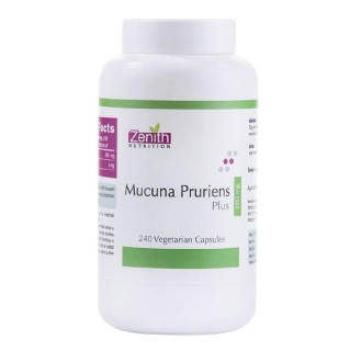Zenith Nutrition Mucuna Pruriens Plus (200 mg),  240 capsules