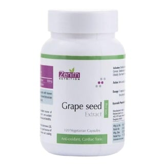 Zenith Nutrition Grape Seed Extract (500mg),  120 veggie capsule(s)