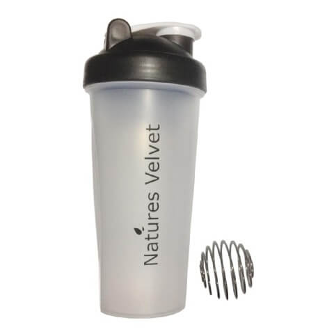Natures Velvet Ball Shaker,  Transparent  600 ml