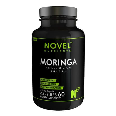 Novel Nutrients Moringa (450 mg),  60 capsules