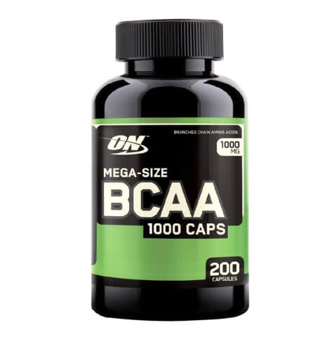 ON (Optimum Nutrition) BCAA,  200 capsules  Unflavoured